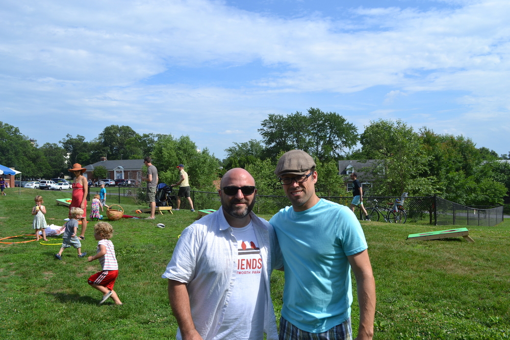 Drew & Rob Mandle.
