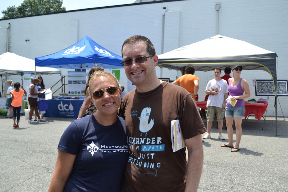 Jonah and Karen Goodman.
