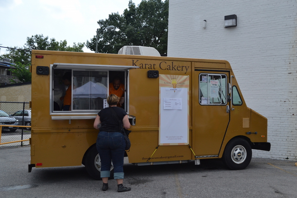 Karat Cakery, a carrot cake food truck that is awesome.