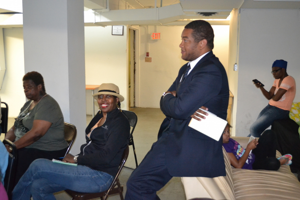 Khalil Thompson, Ward 4 Liaison (this man is at every meeting I attend)
