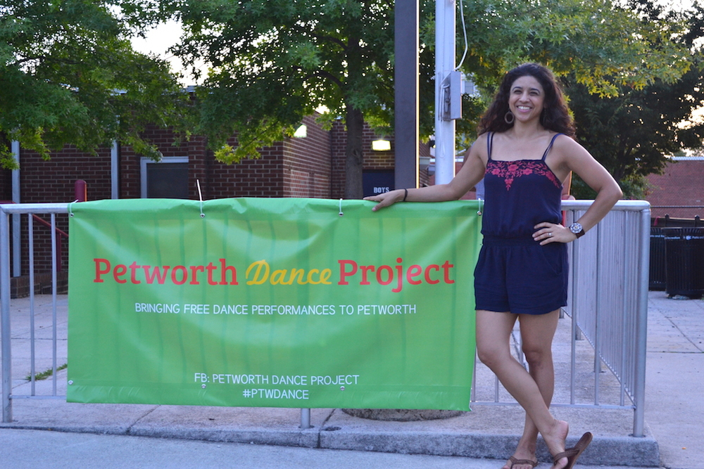 Petworth Dance Project organizer, Sara Herrera-Kopetchny