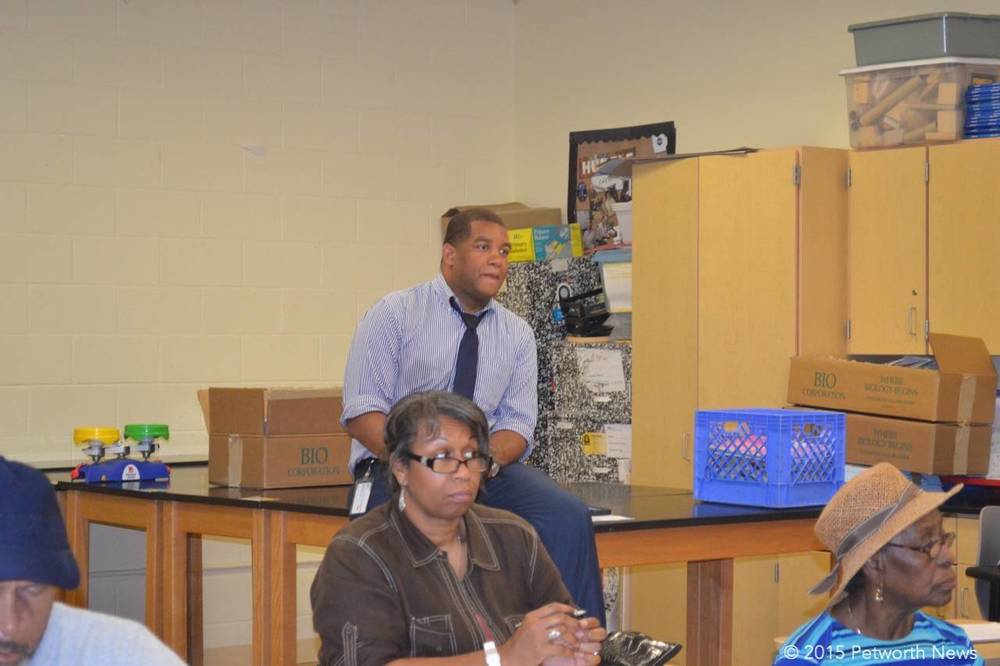 Khalil Thompson, one of theMayors Ward 4 liaisons