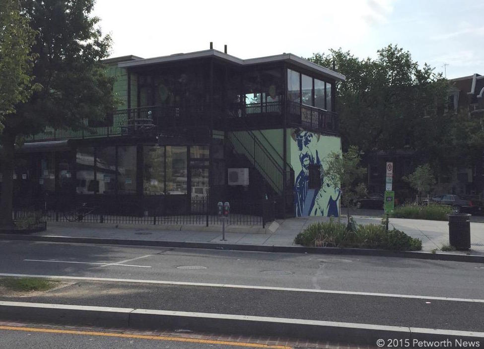 Sweet mango cafe to become 21 unit apartment building for Chuck brown mural