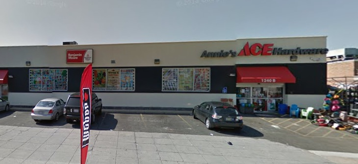 Annie's Ace Hardware, courtesy of Google Maps