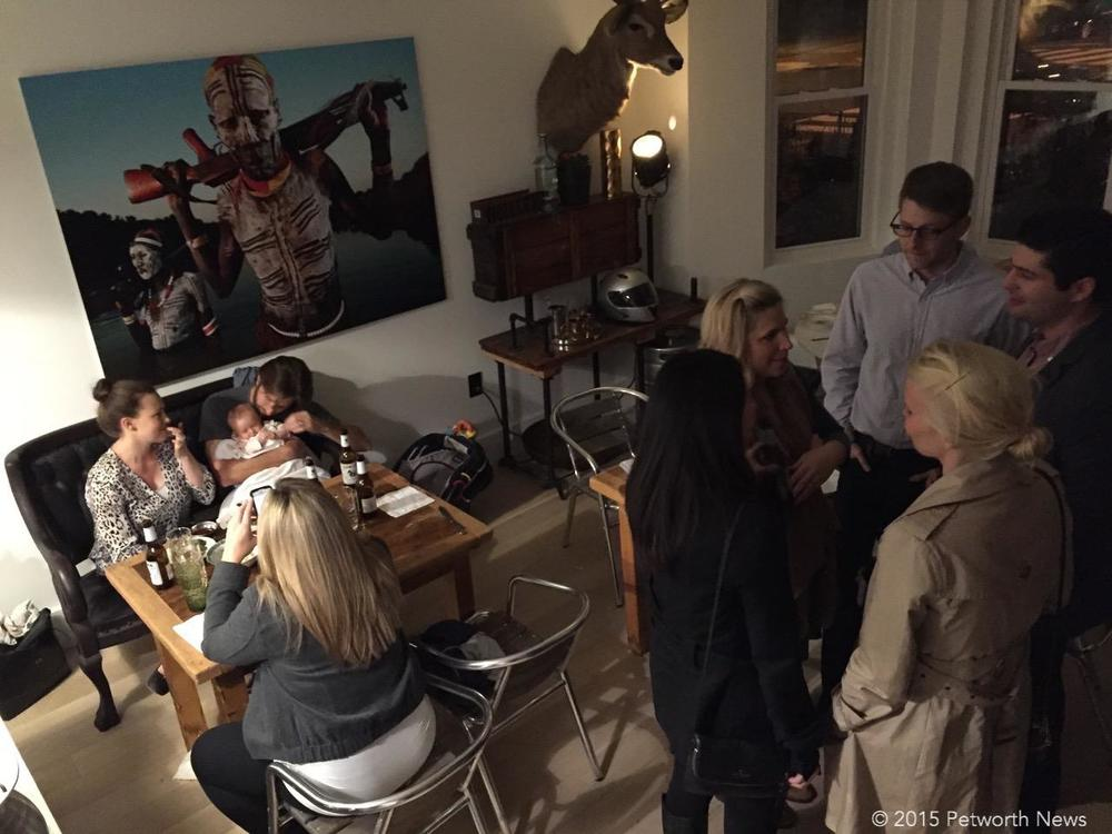 What it looks like when a Food Network chef takes over a house and makes it a pop-up restaurant.