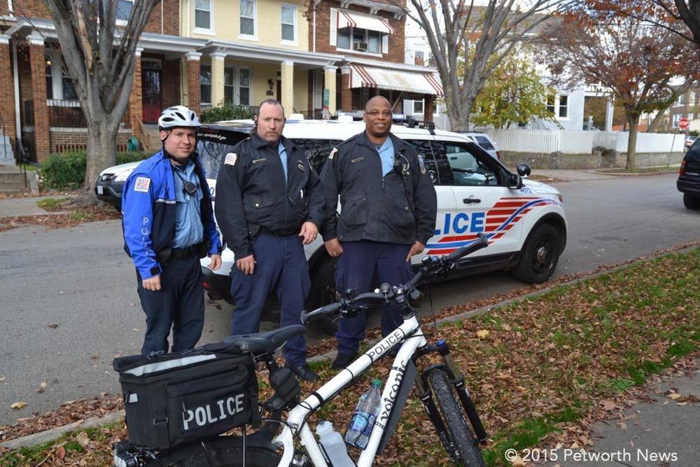 MPD Officers Glascok, Topper and Worthington