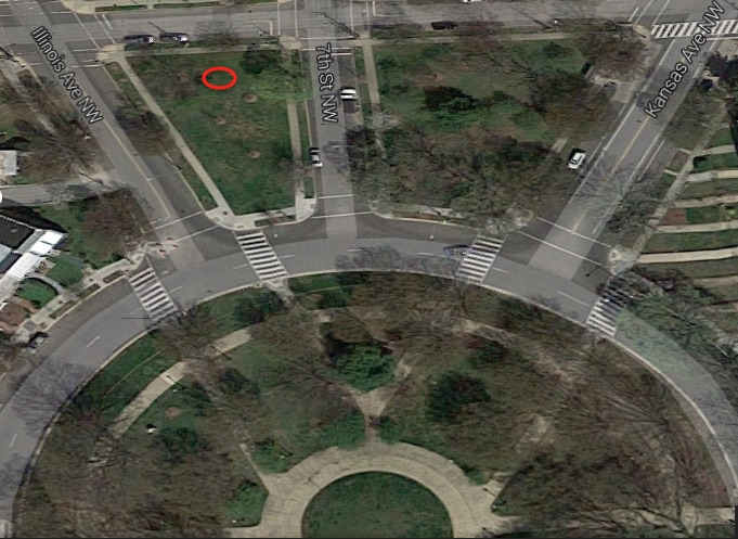 Approximate location of the assault (photo: Google Maps)