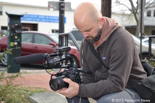Justin Dent, Petworth resident and videographer