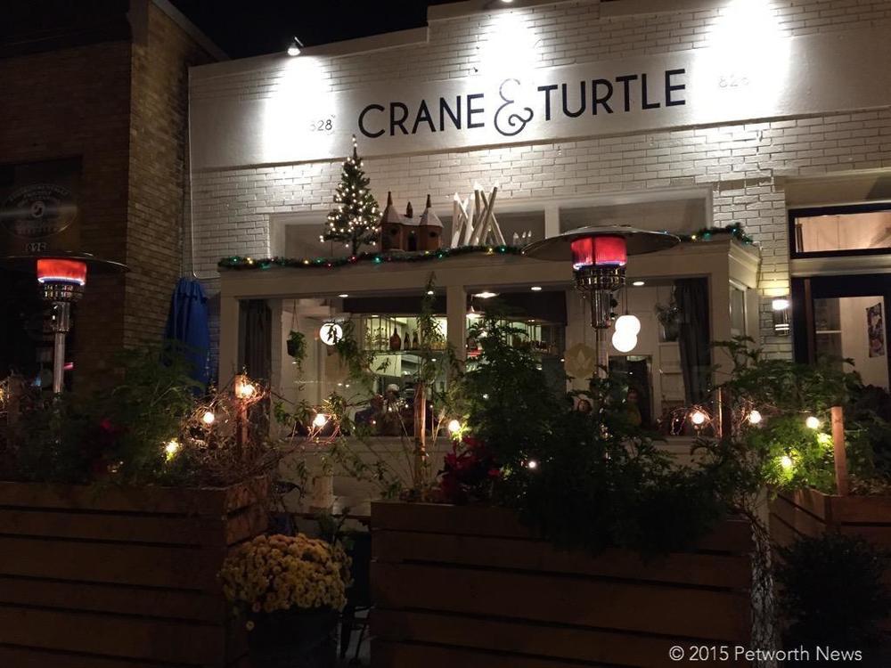 Crane & Turtle