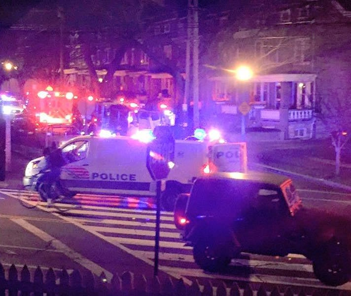 Photo provided by eyewitness on Decatur St NW