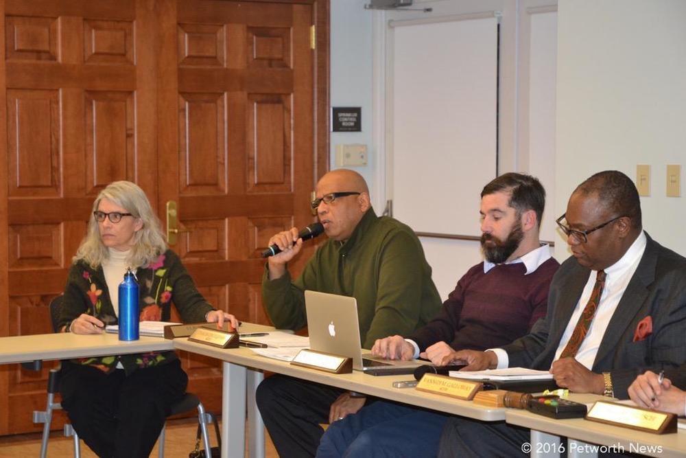 Elisa Irwin, Taalib-Din Uqdah, Michael Halpern and Vann-Di Galloway