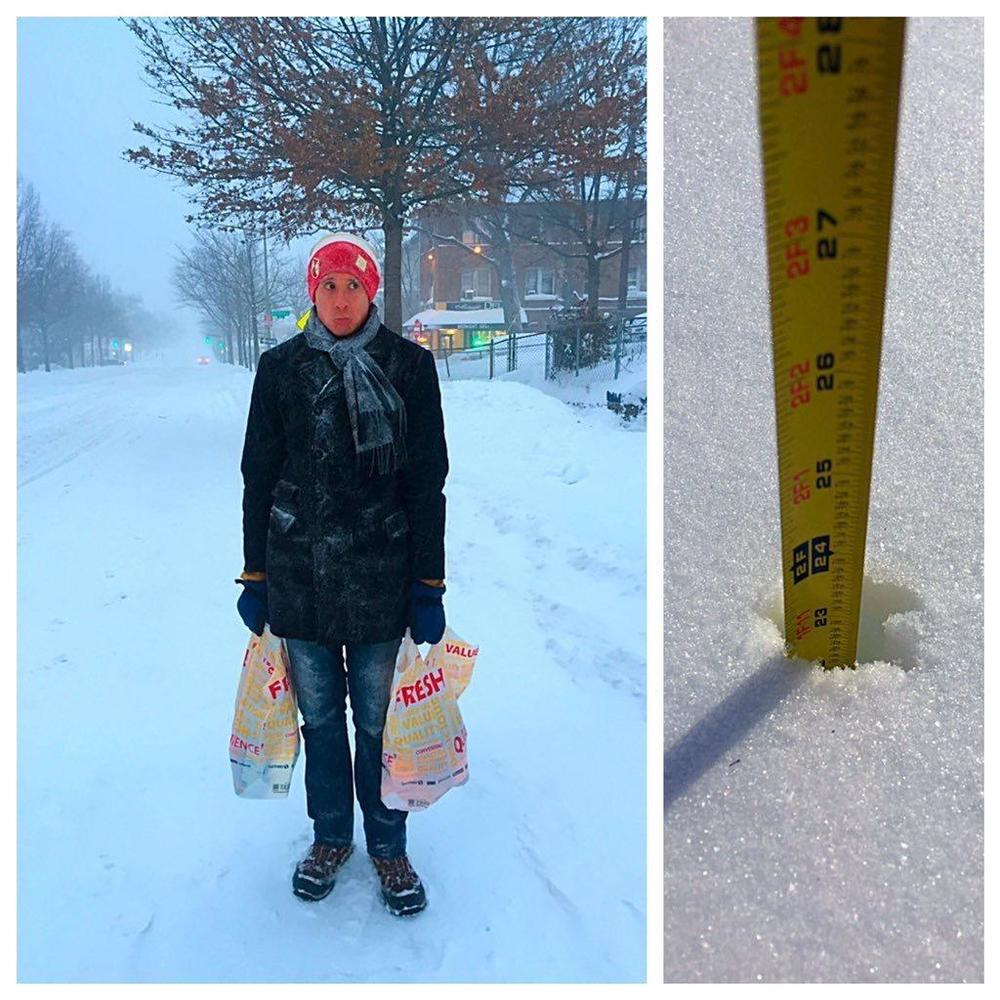 23 inches of snow?!? ( Photo: Danielle Branson)