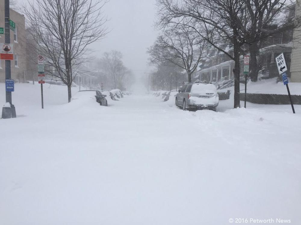 7th Street in the Blizzard