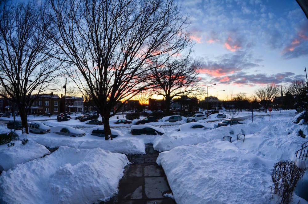 End of the day in Petworth...  (photo: Christopher Schwalm)