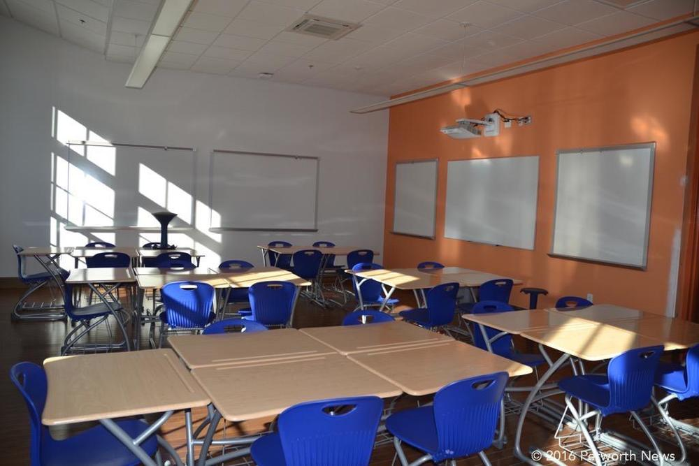Classroom at Roosevelt