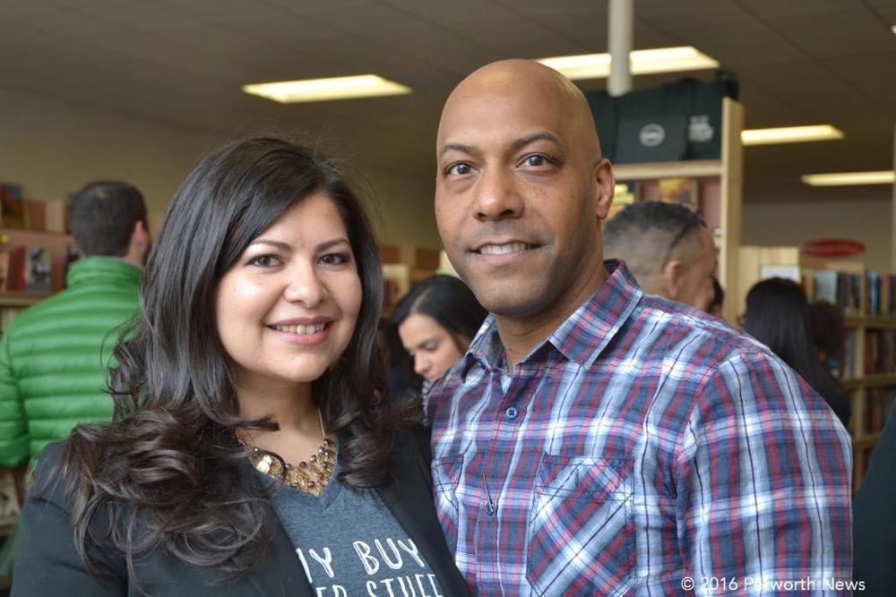 Karen Coco and Pablo Sierra
