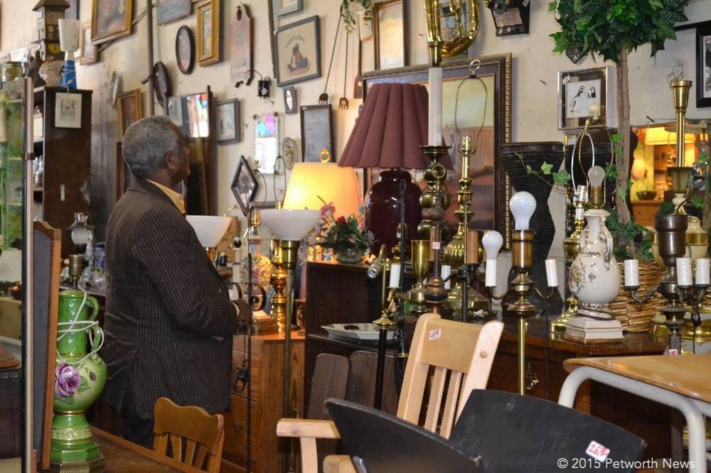 Bertram Keller, owner of Bentley's Vintage Furniture and Collectibles (810  Upshur Street NW), said he saw ATTIC as another way of reaching an  interested ... - Attic DC: A Petworth Resident Is Trying To Help You Shop DC's