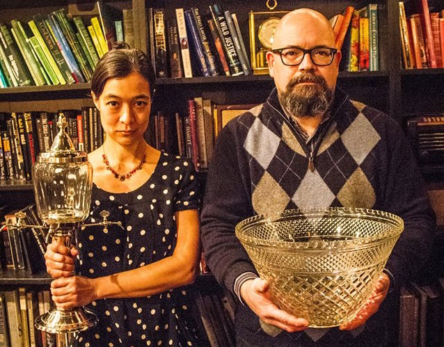 Chantal Tseng and Dan Searing, your new American gothic...