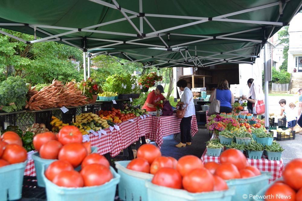 Plenty of fresh produce at the 14th & Kennedy Street Farmers Market