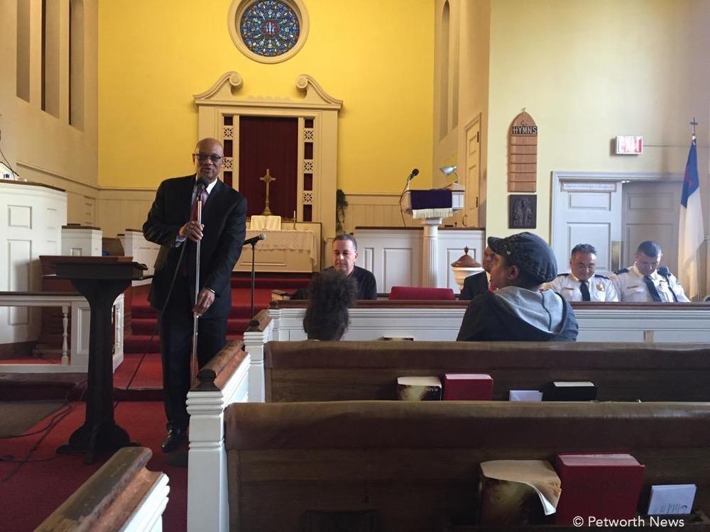 Pastor Gerald Elston