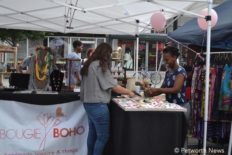 A vendor at the 2015 Celebrate Petworth Festival