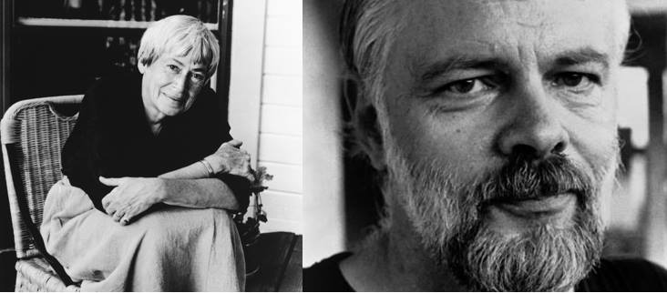 Ursula Le Guin & Philip K. Dick. (Image courtesy Petworth Citizen)