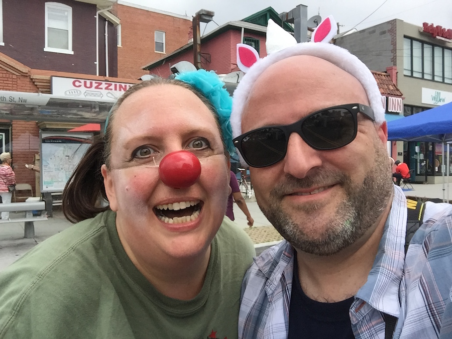 Celebrate Petworth with a dancing clown (I was a bit unnerved, TBH). June 4, 2016