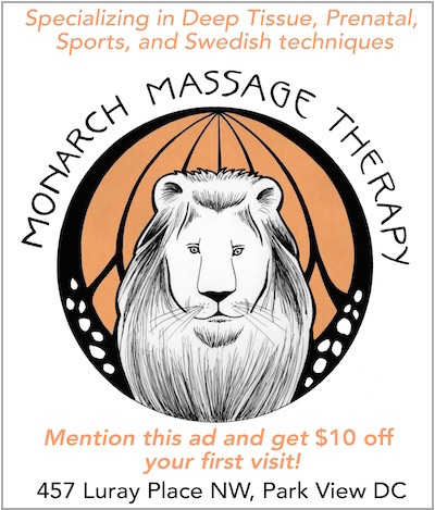 Readers get a $10 discount on a massage!