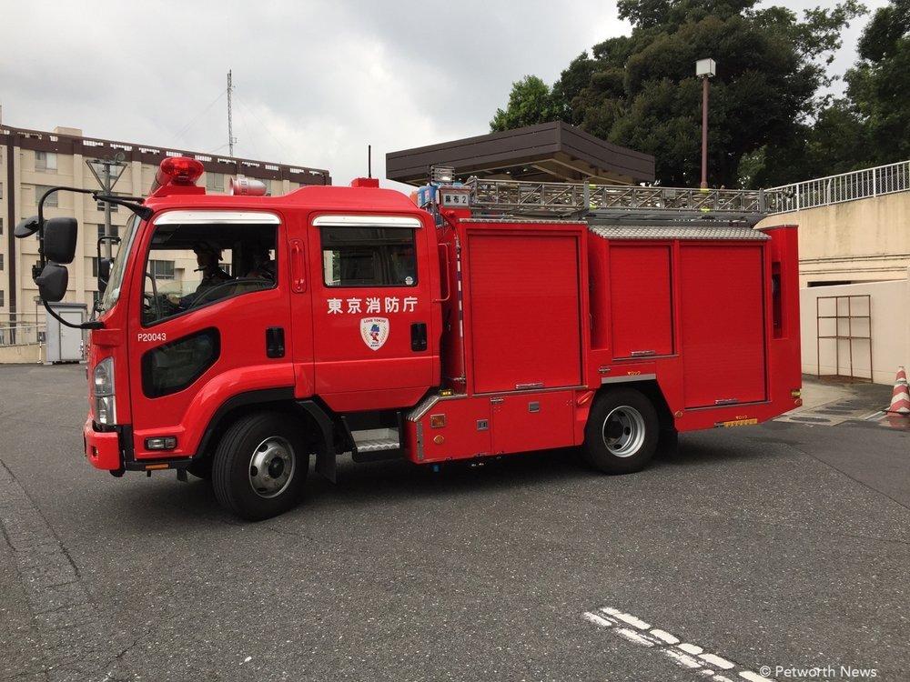 Tokyo firetruck!