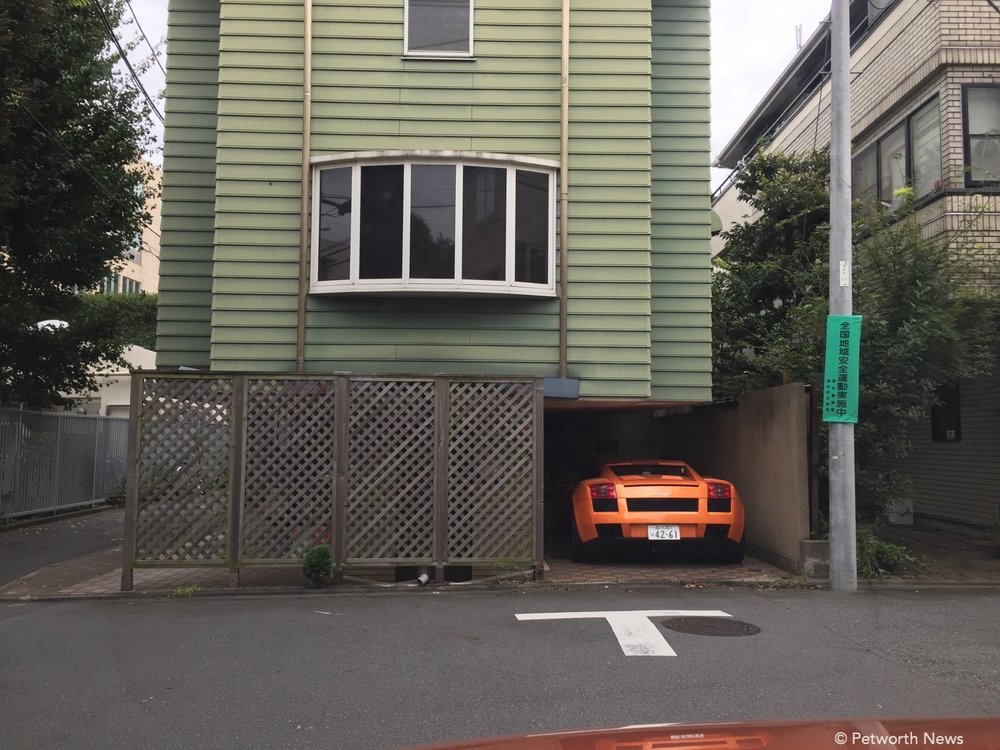 What, you don't have a Lamborghini in your garage?