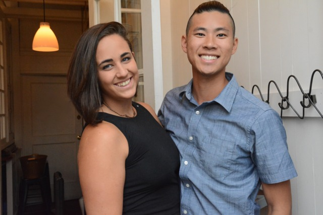 Carlie Steiner and Kevin Tien (photo courtesy  Laura Hayes WCP )
