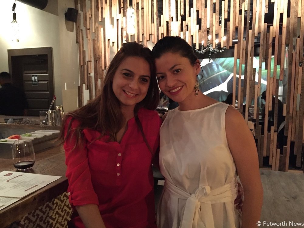 Owner Jessica Login (right) and her friend (Veronica Losada)