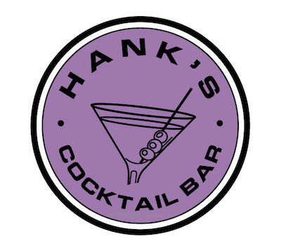 New logo for Hank's Cocktail Bar