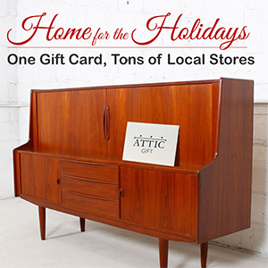 Support local retail with an ATTIC gift card!