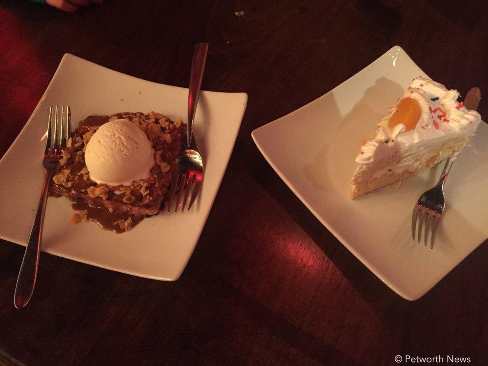 The  Torreja ($5) Tres Leches cake ($5).