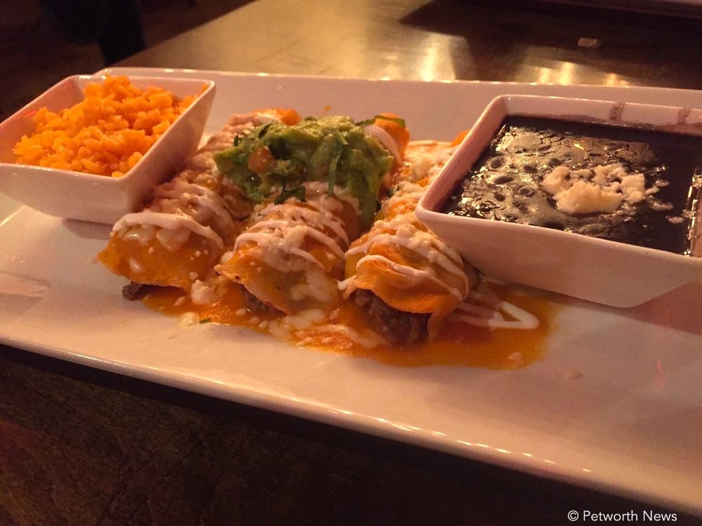 Enchilada Carne Horneada $11
