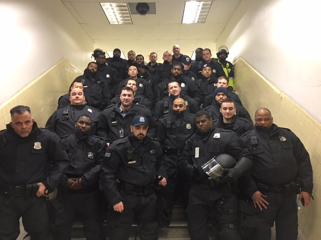 MPD officers of CDU 42 from Petworth. (photo courtesy MPD Lt. Washington)