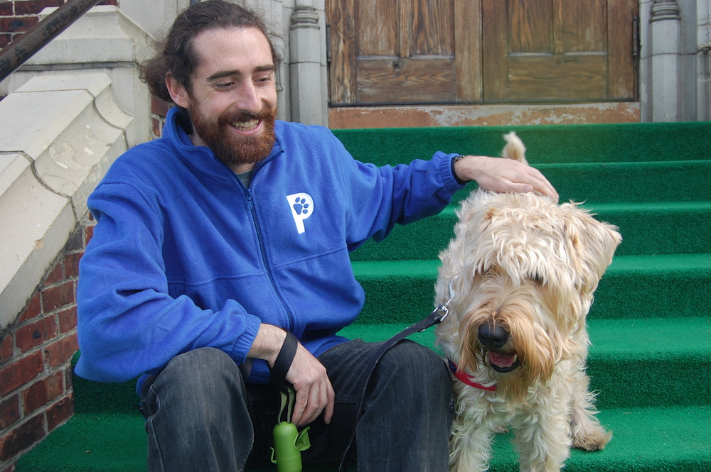 Matt is one of the dog walkers in Petworth for Patrick's Pet Care