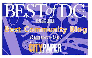 Votes Best Community Blog (runner-up!) three years in a row.