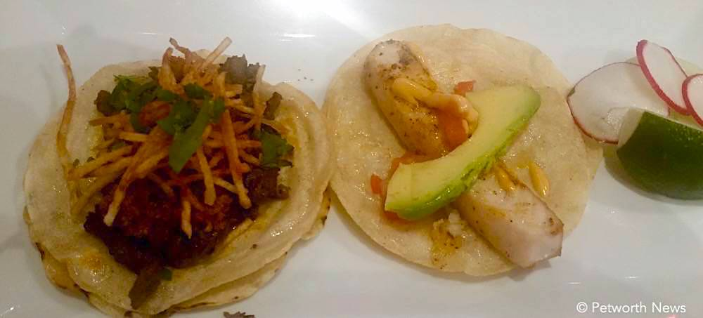 Campechano and Tilapia tacos