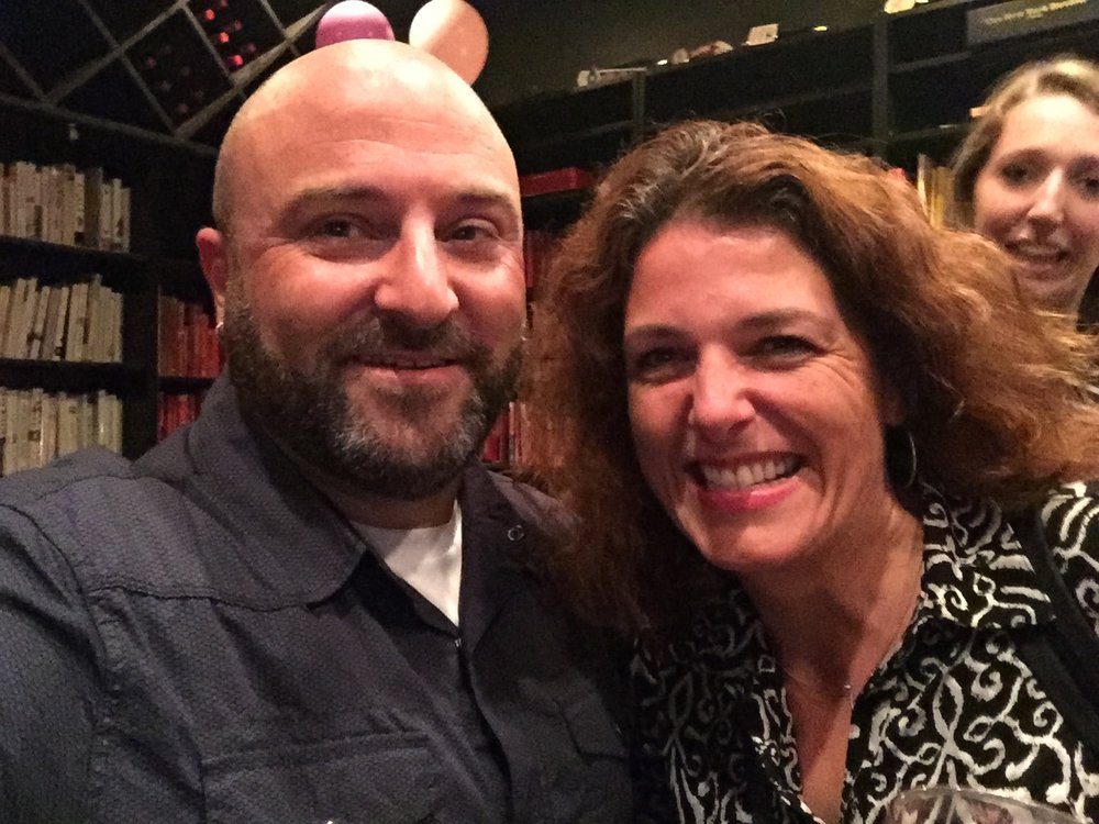 Jamie Riley, Washington Post Local Opinions Editor, poses for a selfie at the Petworth News Shindig. June 29, 2015.  (Those balloons behind me are... unfortunate, lol).