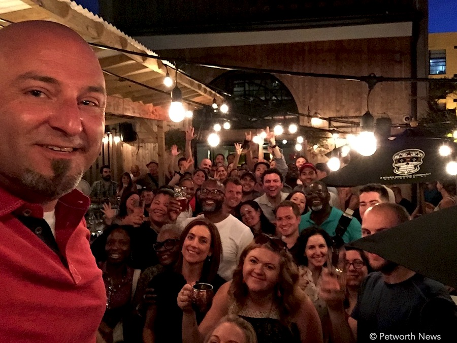 It's a giant #selfiewithDrew from the 3rd Annual Petworth News Shindig (July 15, 2017)