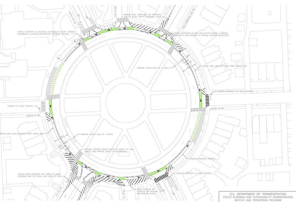 A rendering of the changes coming to Grant Circle.