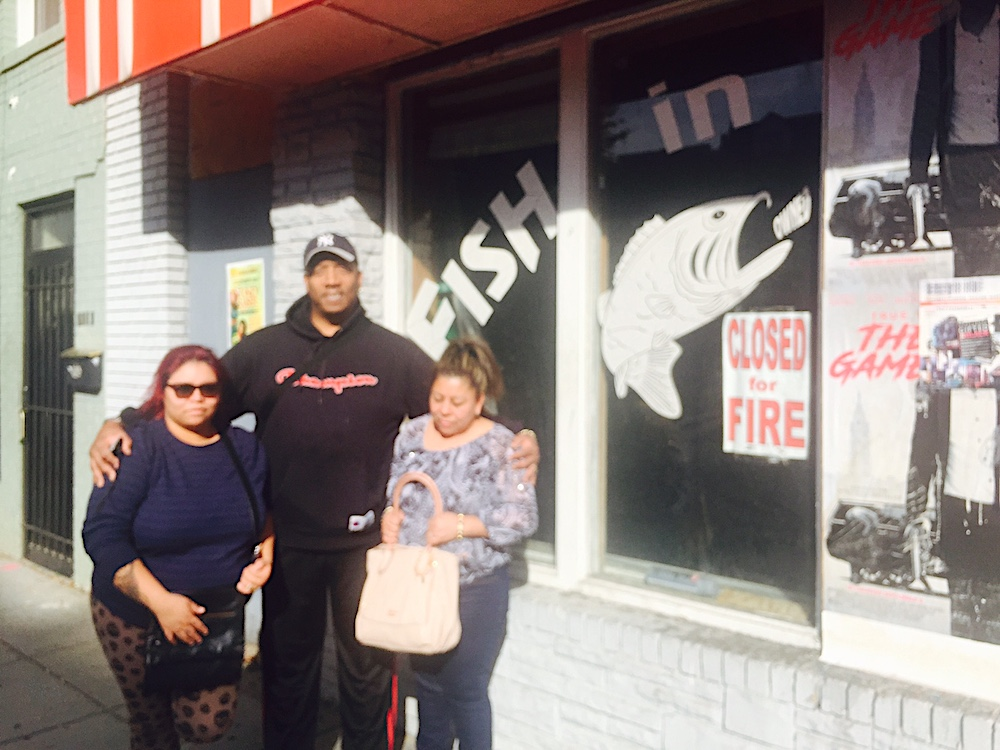 Fish in the Hood owner Bill White in front of the restaurant. (photo: Bill White)