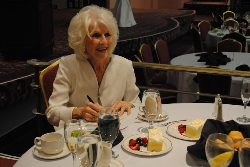 Bid on a private dinner with NPR national radio host and podcaster Diane Rehm.