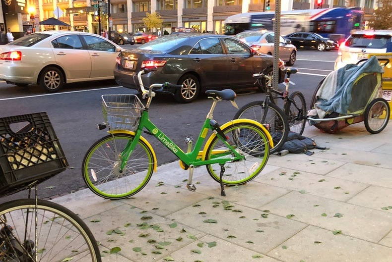 Dockless bikeshares popping up in Petworth and around DC
