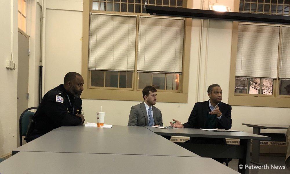 Lt. Anthony Washington, Josh Fleitman and CM Brandon Todd