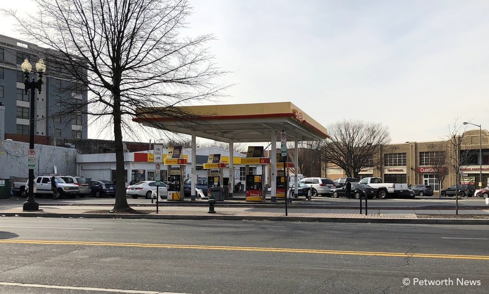 Shell Service Station at 4140 Georgia Avenue