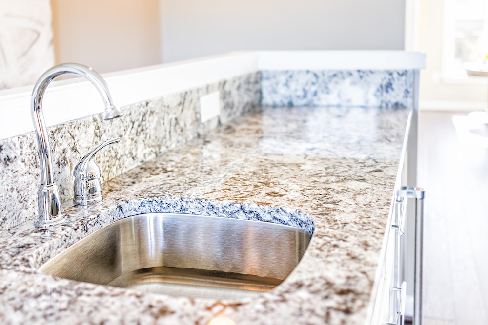 Marble countertop (photo: Marc Dosik)