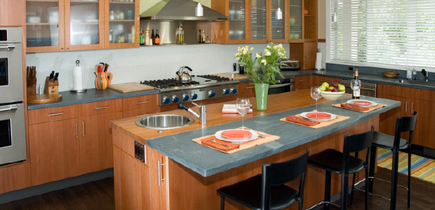Soapstone countertops (photo: Marc Dosik)